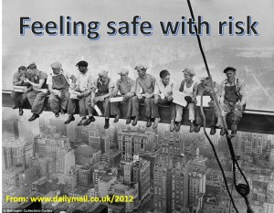 feeling safe on a girder