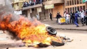 Bobi Wine Protest